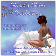 Ginger's Sister Graduation