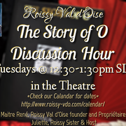 THE STORY OF O Discussion Hour
